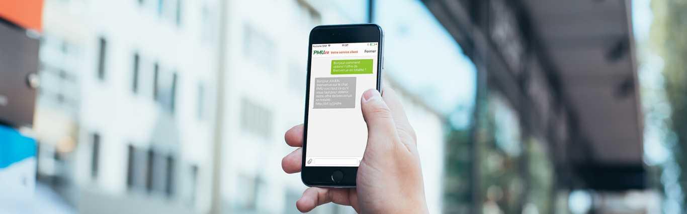 L'ergonomie du PMU mobile site.