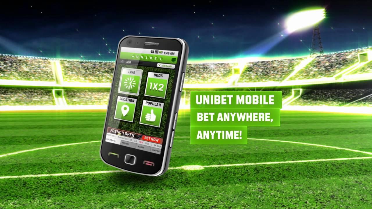 Les atouts Unibet mobile app.